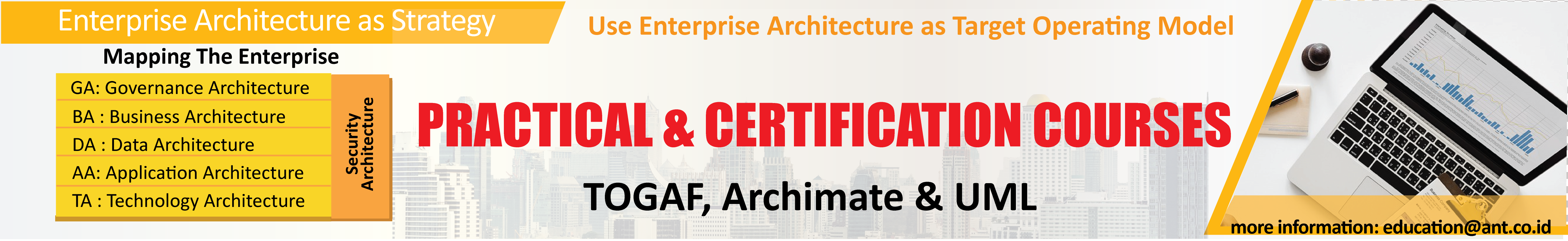 Map your Enterprise Architecture